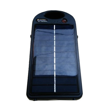 Asatron REL-1988 USB Portale Solar Charger With Emergency Lamp