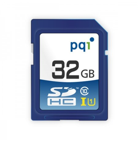 PQI SDHC UHS-1 Class 10 16GB