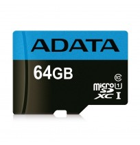 Adata MicroSD UHS-I Class 10 With Adapter 64GB