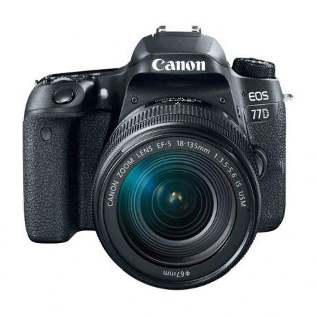 Canon EOS 77D Lens 18-135MM