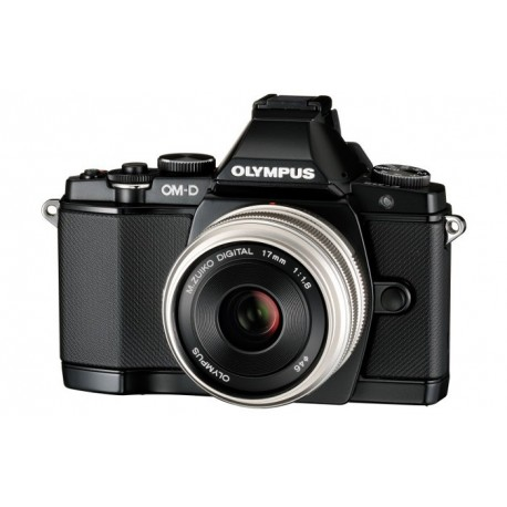 OLYMPUS E-M5 M1250K BLACK BLACK + M.ZUIKO DIGITAL 17MM