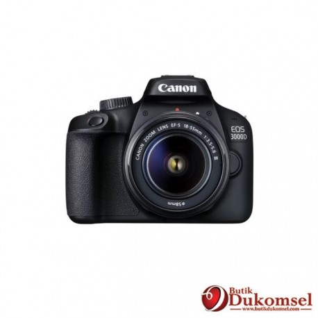 Canon EOS 3000D Lens EF-S 18-55mm III KIT