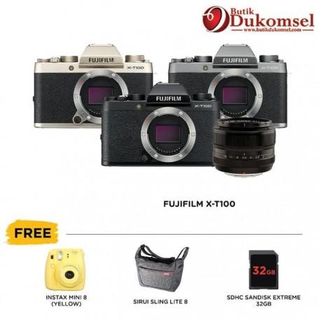 (PRE-ORDER) Fujifilm X-T100 Body Only + XF 35mm F1.4 R