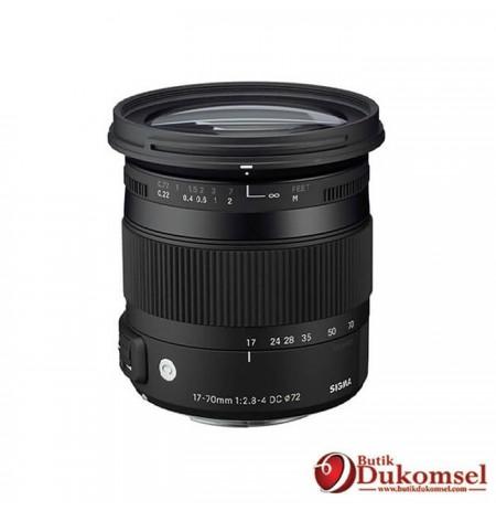 Sigma 17-70mm F2.8-4 Canon
