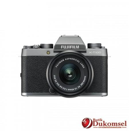 Fujifilm Finepix X-T100 EE BO + XF35MM F1.4R + Instax Mini 8 + Sirui + SDHC Sandisk Dark Silver