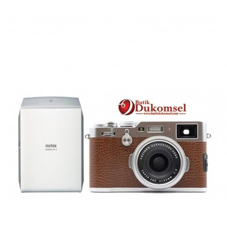 Gambar Fujifilm X100F Silver & Instax Share