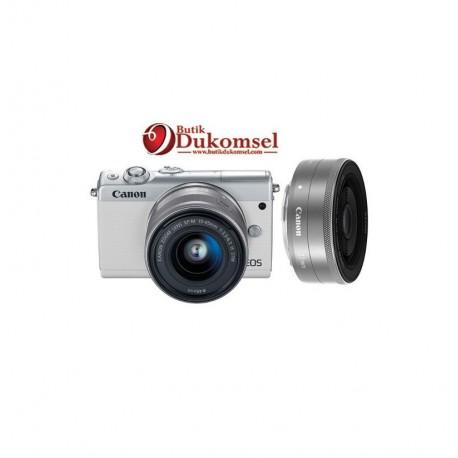 Canon EOS M100 EF-M15-45MM /EF-M22 STM