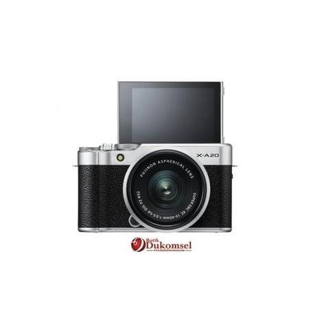 Fujifilm Finepix X-A20 KIT XC15-45mm F3.5-5.6 OIS PZ Silver