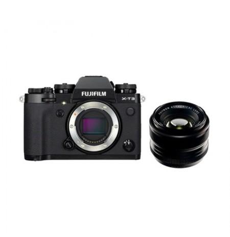 Fujifilm Finepix X-T3 EE Back & Lensa XF 35mm F1.4