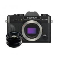 Fujifilm Finepix X-T30 BO & XF 35mm F1.4R Black