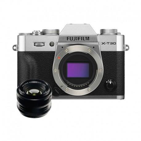 Fujifilm Finepix X-T30 BO & XF 35mm F1.4R Silver