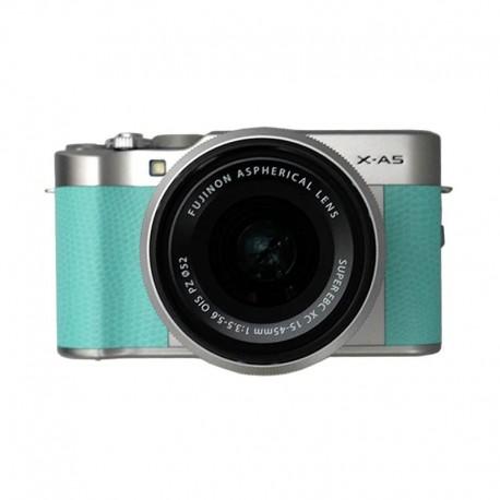 Fujifilm Finepix X-A5 KIT XC15-45mm F3.5-5.6OIS PZ Mint Green + SDHC Sandisk 16GB