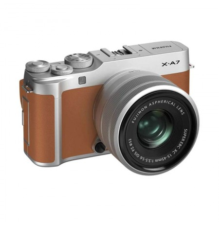 Fujifilm X-A7 Kit XC 15-45mm Kamera Mirrorless & Sandisk Xtreme 32GB