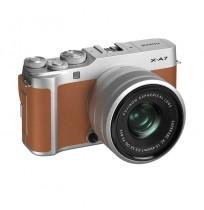 Fujifilm X-A7 Kit XC 15-45mm Kamera Mirrorless & Sandisk Xtreme 32GB