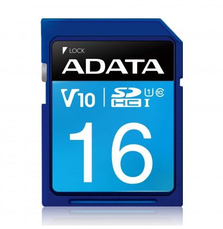 ADATA SDHC UHS-I Class10 16GB