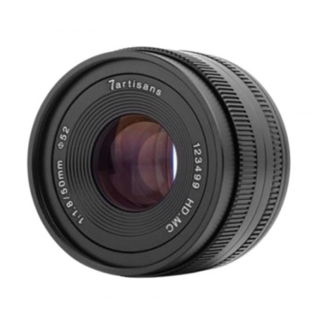 7Artisans 50mm F/1.8 Lensa Kamera for Sony E Mount