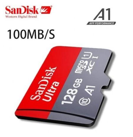 SanDisk Ultra microSDXC Card UHS-I Class 10 A1 (100MB/s) 64GB