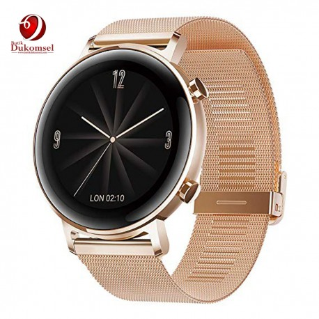 Huawei Watch GT2 - Elegant 42mm (Diana B19b) Refined Gold Smart watch
