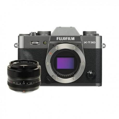 Fujifilm Finepix X-T30 BO & XF 35mm F1.4R Charcoal Silver