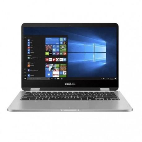 "Asus Vivobook Flip TP401MA - BZ221TS (Intel Celeron N4020/Intel UHD Graphics/4GB RAM/256GB SSD/14"" HD/Win10) Light Grey"