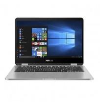 "Asus Vivobook Flip TP401MA - BZ221TS (Intel Celeron N4020/Intel UHD Graphics/4GB RAM/256GB SSD/14"" HD/Win10) Grey"