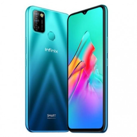 Infinix Smart 5 Smartphone [4GB/64GB] Quetzal Cyan