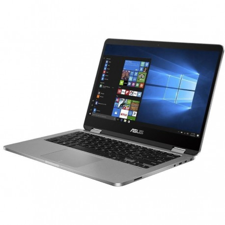 "ASUS Vivobook Flip TP401MA-VIPS421 (Intel® Celeron® N4020/Intel® UHD Graphics/4GB RAM/256GB SSD/14""FHD/Win10) Grey"