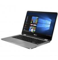"ASUS Vivobook Flip TP401MA-VIPS421 (Intel® Celeron® N4020 /Intel® UHD Graphics /4GB RAM /256GB SSD /14""FHD /Win10) Grey"