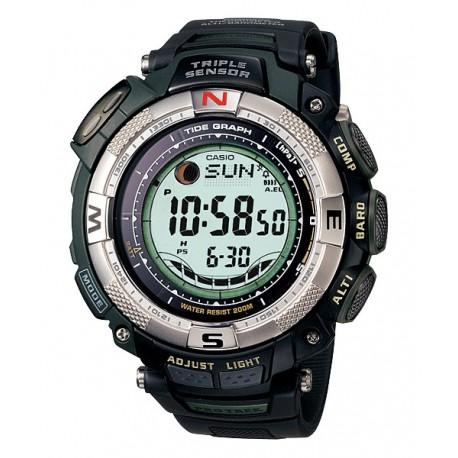 Casio Pro Trek PRG-130-1VDR Tough Solar Digital Dial Black