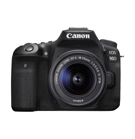 Canon EOS 90D DSLR Kit 18-55mm f/3.5-5.6 IS USM