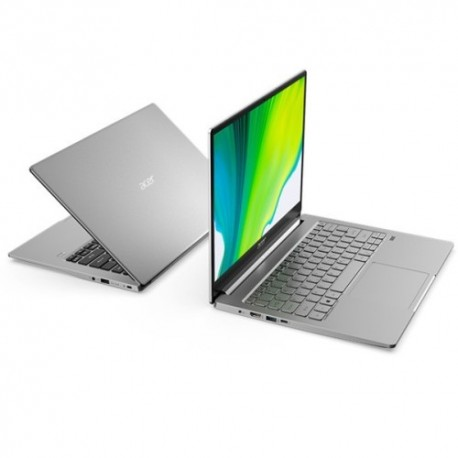 "Acer Swift 1 Fresh SF114-34-P2VU (Intel® Pentium® Silver N6000 /Intel UHD Graphics /4GB RAM /512GB SSD /14.0""FHD /Win10) Silver"