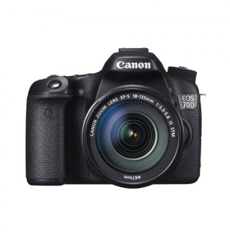 Canon EOS 70D Wifi Lens 18-135mm