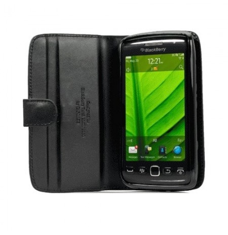Capdase Leather Case Bi-fold Blackberry 9860