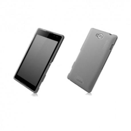 Capdase Soft Jacket Sony Xperia C Transparan