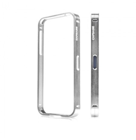 Capdase Bumper Duo Frame iPhone 5 Silver