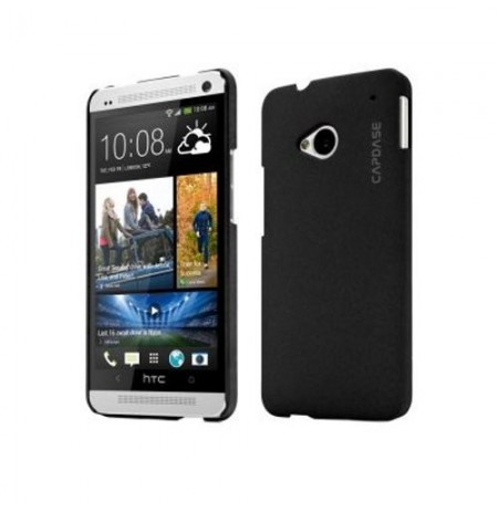 Capdase Karapace Jacket Touch HTC One Black