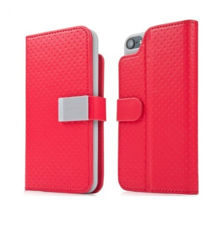 Capdase Folder Case Sider Polka iPhone 5 Red