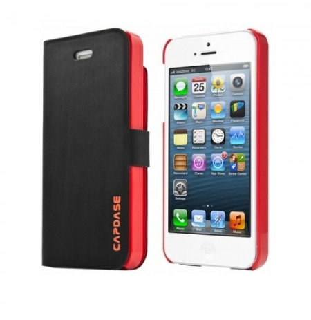 Capdase Smart Folder Sider Fiber iPhone 5
