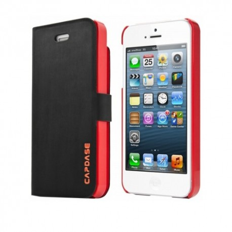 Capdase Smart Folder Sider Fiber iPhone 5