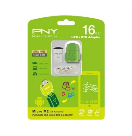 PNY 16GB + OTG Adapter