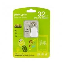 PNY 32GB + OTG Adapter