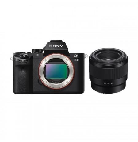Gambar Sony Alpha a7 II with FE 50mm F1.8