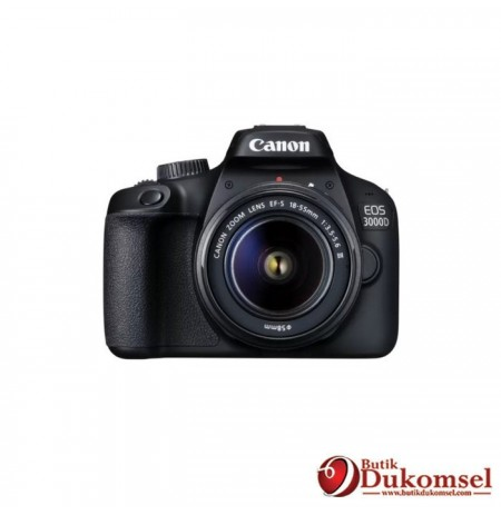 Canon EOS 3000D Lens EF-S 18-55mm III KIT