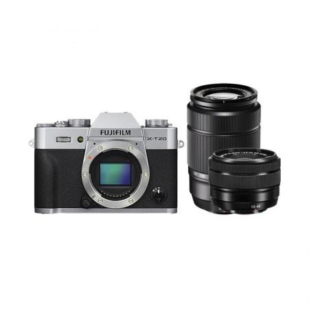 Fujifilm XT20 X-T20 kit 15-45mm & 50-230mm Kamera Mirrorless