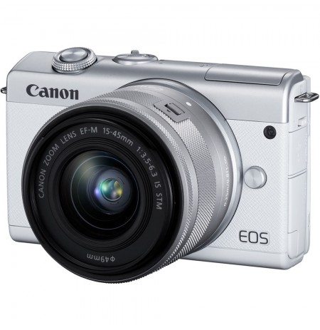 Canon EOS M200  with lens EF-M15-45mm