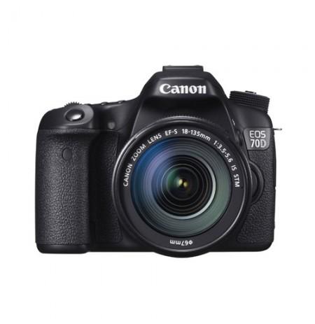 Canon EOS 70D Wifi Lens 18-135mm
